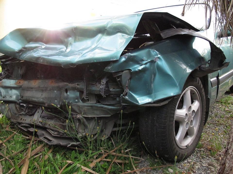 Takhle vypadal Nissan, ve kterém jsme seděli den po příletu na Nový Zéland